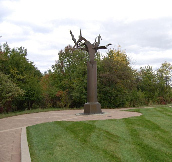 Column of the Free Spirit by Richard Hunt